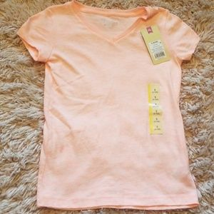 Girls Cherokee V-Neck Tee